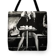 Tribute To Helmut Newton Tote Bag
