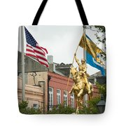 New Orleans Tribute To Joan Of Arc Tote Bag