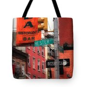 Tribute To Little Italy - Hester And Mulberry Sts - N Y Tote Bag