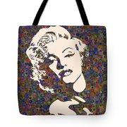 Tribute To Marilyn Monroe Tote Bag
