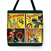 Tribute To Oz Tote Bag