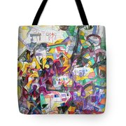 Tribute To Rebbe Shimon Tote Bag