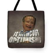 Tribute To Robin Williams Typography Tote Bag