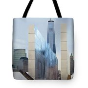Tribute To Sept 11 Tote Bag