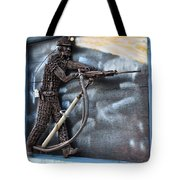 Tribute To The Miner Tote Bag