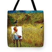 Tribute To Vincent Van Gogh - His Final Days Tote Bag