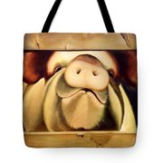 Tricia The Pig Tote Bag