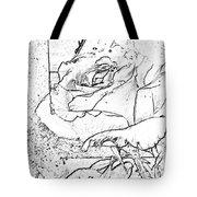 Tricia's Rose Dm  Tote Bag