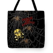 Trick Or Treat Halloween Digital Artwork Tote Bag