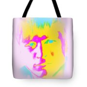 The Blue-eyed Joker Looks At Me, He Seems So Nice  Tote Bag
