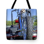 Tricycle Of Death Tote Bag