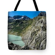 Triftsee Suspension Bridge - Gadmen - Switzerland Tote Bag