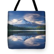 Trillium Lake Escape Tote Bag