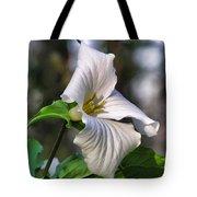 Trillium Purity Tote Bag