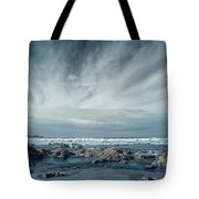 Trinidad State Beach In Infrared Tote Bag