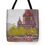 Trinity Bustle Tote Bag