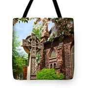 Trinity Church Garden  7d02024 Tote Bag