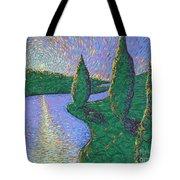 Trinity River Tote Bag