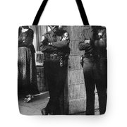 Trio Of Arm Crossers San Francisco California 1972 Tote Bag