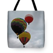 Trio Of Balloons 2 Tote Bag