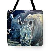 Trio Of Rhino Tote Bag