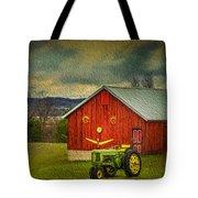 Trip To The Happy Farm Tote Bag