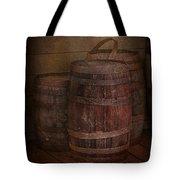 Triple Barrels Tote Bag by Susan Candelario