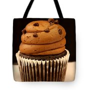 Triple Chocolate Cupcake Tote Bag