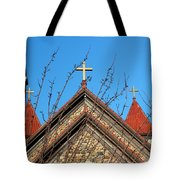 Triple Cross 4 Tote Bag