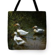 Triple Ducks Tote Bag