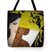 Triple Face Tote Bag