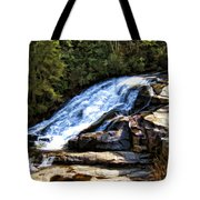 Triple Falls II Tote Bag