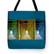 Triple Perspective Tote Bag