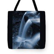 Triple Plunge Twilight Waterfall Tote Bag