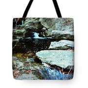 Triple Waterfall Tote Bag