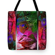 Triptych Chic Tote Bag