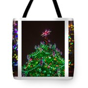 Triptych - Christmas Trees - Featured 3 Tote Bag