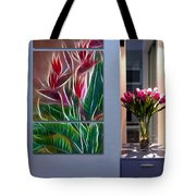 Triptych Display Sample 04 Tote Bag