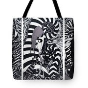 Triptych Sound Tote Bag