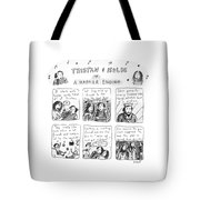 Tristan & Isolde In A Happier Ending Tote Bag