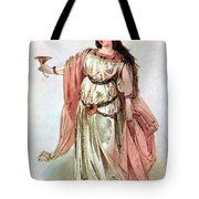 Tristan And Isolde, 1865 Tote Bag