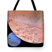 Triton And Neptune Tote Bag