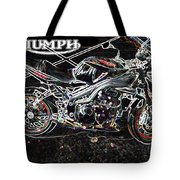 Triumph Abstract Tote Bag