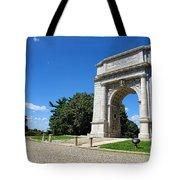 Triumph And Sorrow Arch  Tote Bag
