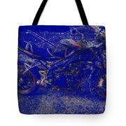 Triumph In Blue Tote Bag
