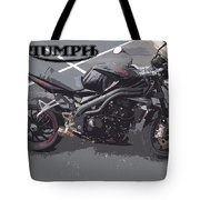 Triumph Motorcycle Tote Bag