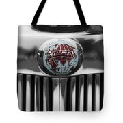 Triumph Roadster Emblem Selective Color Tote Bag