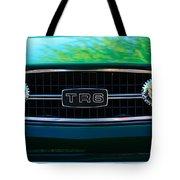 Triumph Tr 6 Grille Emblem Tote Bag