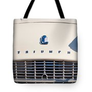 Triumph Tr3 Grille Emblem Tote Bag