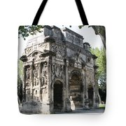 Triumphal Arch - Orange Provence Tote Bag